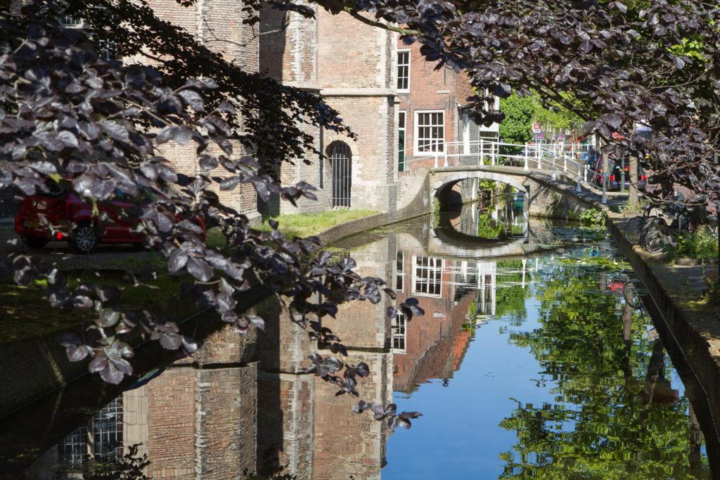 un canal à Delft