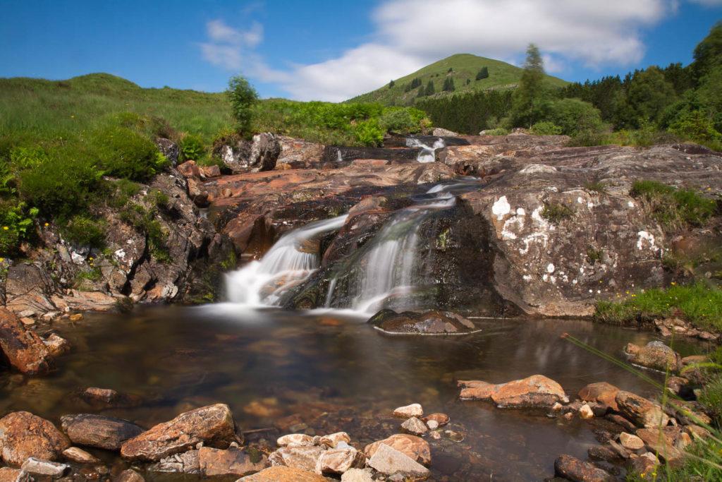 paysage de chute d\'eau
