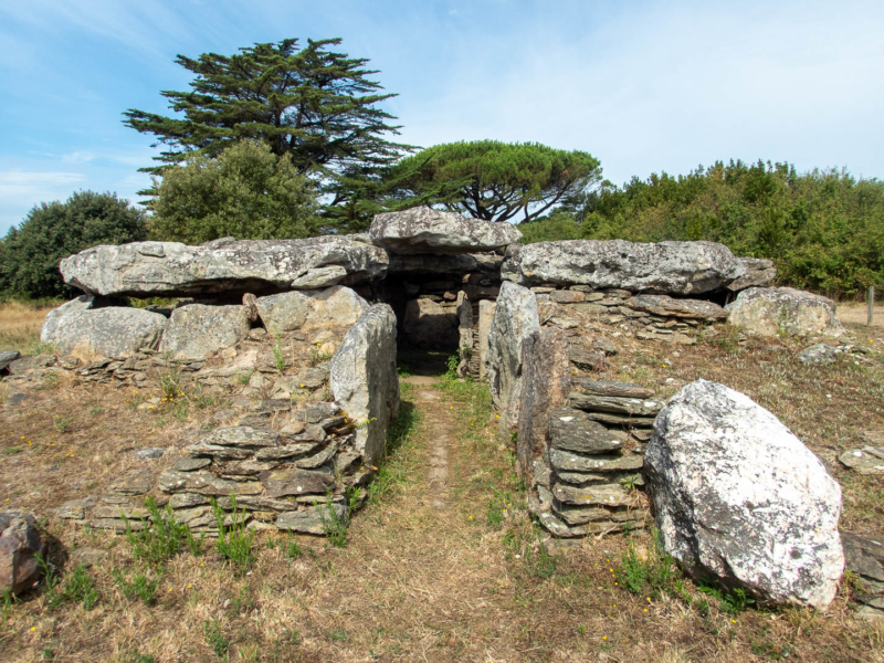 site mégalithique à Pornic