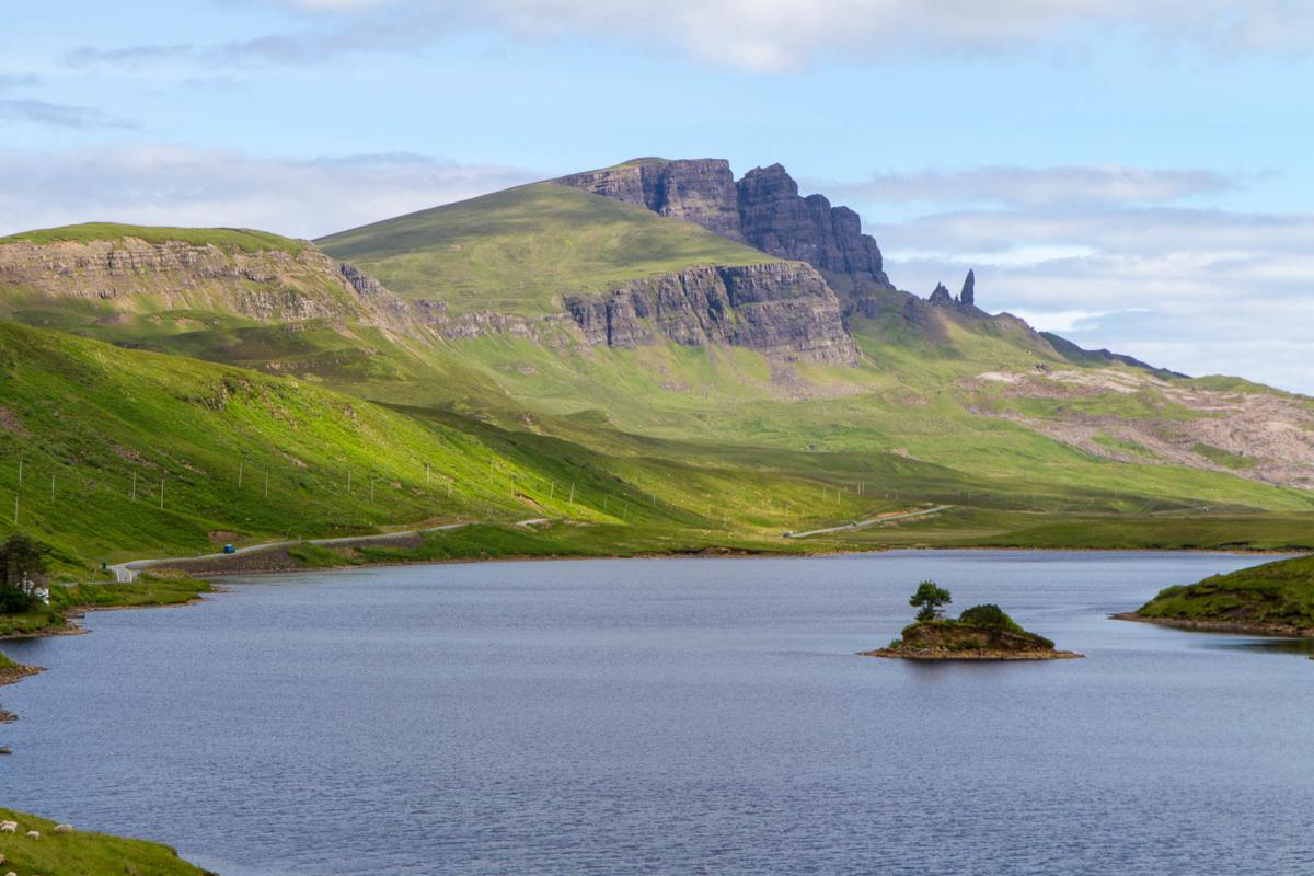 paysage de l'île de Skye
