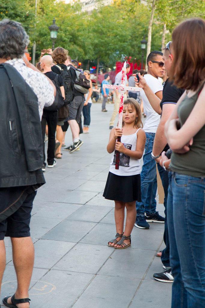 Jeune ou moins jeune, des manifestants de tout âge